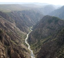 Black Canyon of the Gunnison National Park Gorge