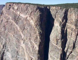 Black Canyon of the Gunnison National Park's Painted Wall