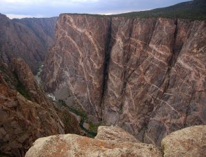 Black Canyon of the Gunnison National Park Painted Wall