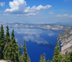 Crater Lake National Park, southern Oregon