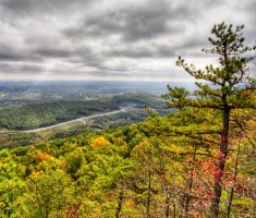Cumberland River Gap, Kentucky