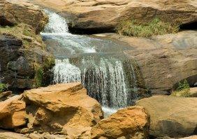 Falls Park, downtown Greenville, South Carolina