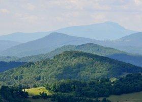 Grandfather Mountain, near Linville, North Carolina