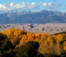 Great Sand Dunes National Park, San Luis Valley, in easternmost parts of Alamosa, Saguache Counties, Colorado