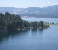 Lake Roosevelt National Recreation Area, eastern Washington