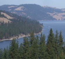 Lake Roosevelt National Recreation Area, eastern Washington