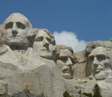 Mount Rushmore National Memorial, South Dakota