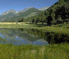 Colorado's Rocky Mountain National Park, Sheep Lakes