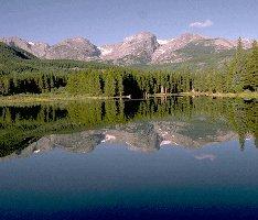 Rocky Mountain National Park, Sprague Lake, Estes Park, CO