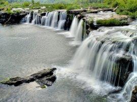 Sandstone Falls State Park, located nearby Beckley, Oak Hill, Blacksburg, WV