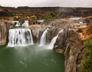 Shoshone Falls, along the Thousand Springs Scenic Byway