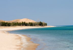 Sleeping Bear Dunes National Lakeshore, Empire, Michigan