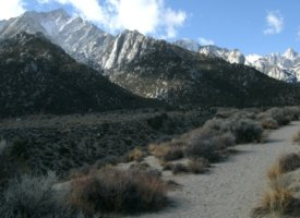 Whitney Portal National Recreation Trail, California