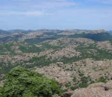 Wichita Mountains Wildlife Refuge, southwestern Oklahoma, near Lawton