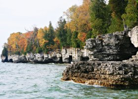 Cave Point Park, Sturgeon Bay, WI