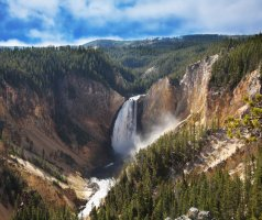Yellowstone National Park, Wyoming; also into Montana, Idaho