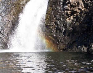Yuba City Waterfall